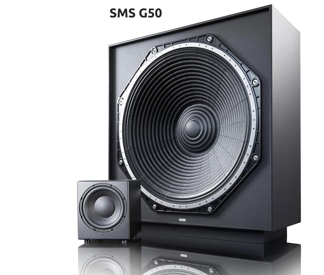 The Subwoofer – a man-high statement