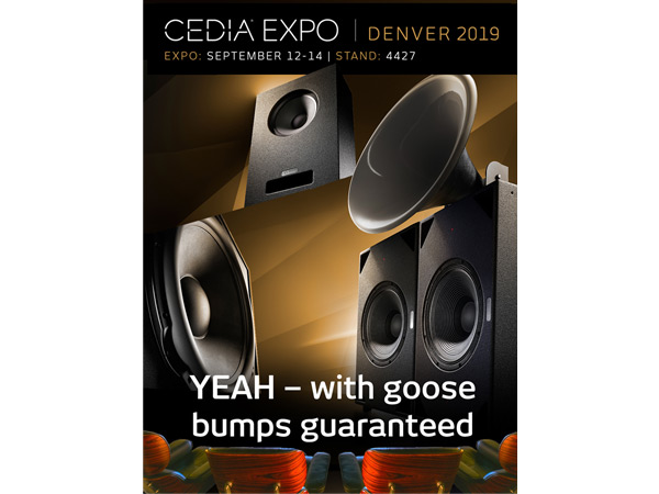 [Translate to Deutsch:] CEDIA EXPO 2019