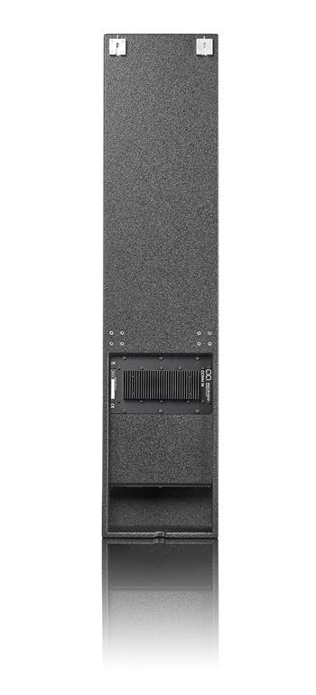 "CCRM6-SB Active high-performance 6,5"" shallow point source coaxial cinema monitor speaker back view"